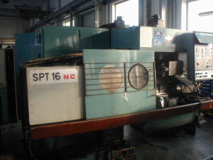 Generalni remont - modernizacija mašina: SPT 16 pre modernizacije