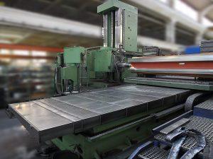 Generalni remont - modernizacija mašina: WHN 13.8 CNC pre modernizacije